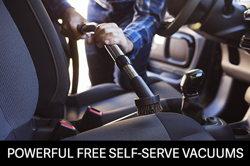 Free Self Serve Vacuums